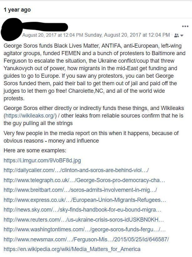 Boycott Soros Funded Media