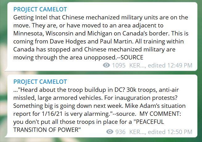 Chinese Invasion Rumor
