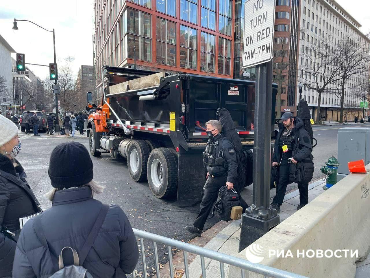 Sniper Team Arrives in DC