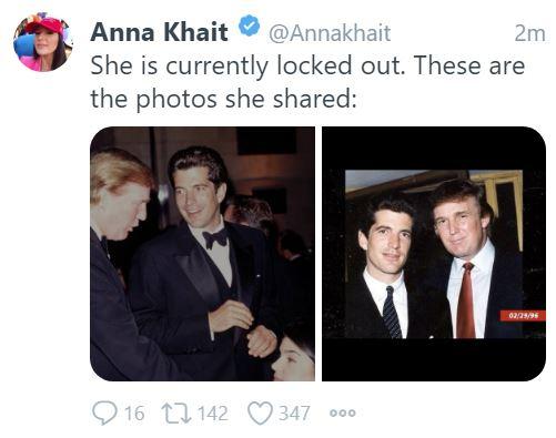 Trump and JFK JR