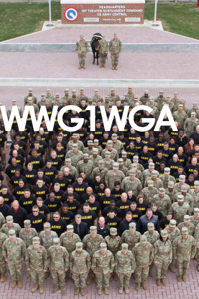 WWG1WGA Where We Go 1 We Go All
